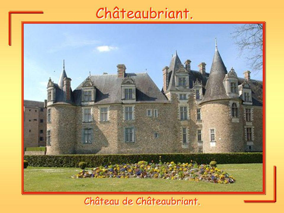 Château de Châteaubriant.