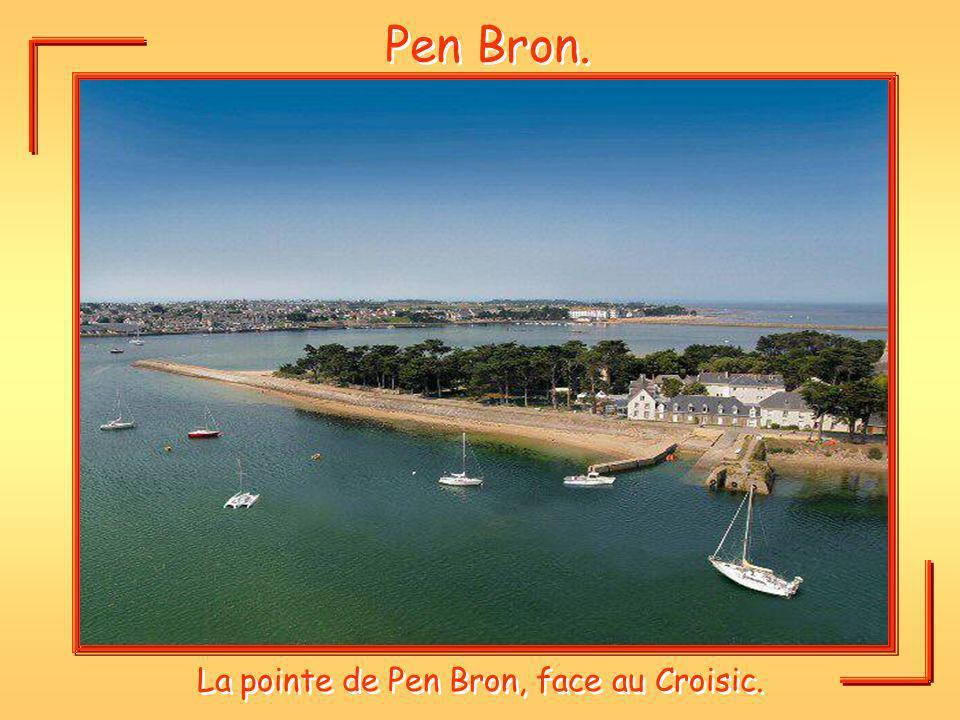 La pointe de Pen Bron, face au Croisic.