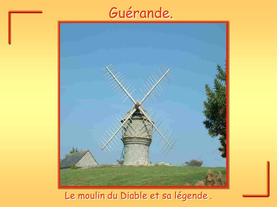 Le moulin du Diable et sa légende .