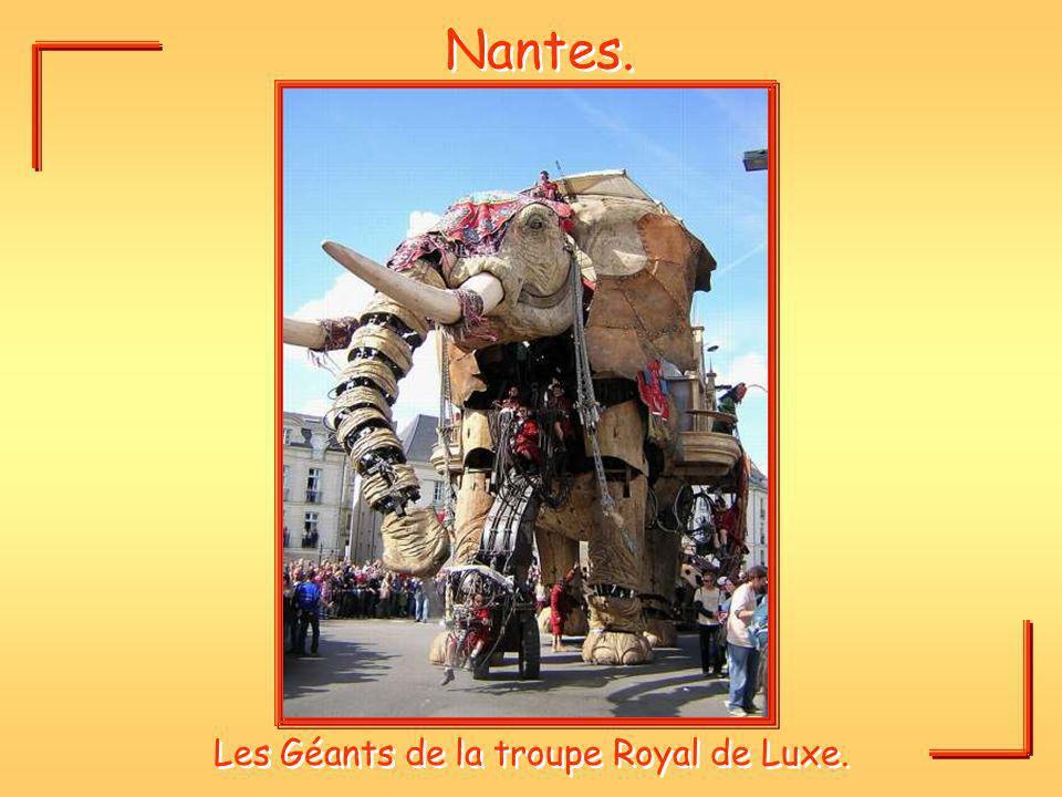 Les Géants de la troupe Royal de Luxe.
