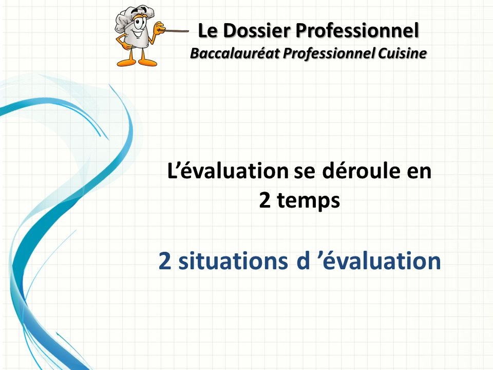 2 situations d 'évaluation