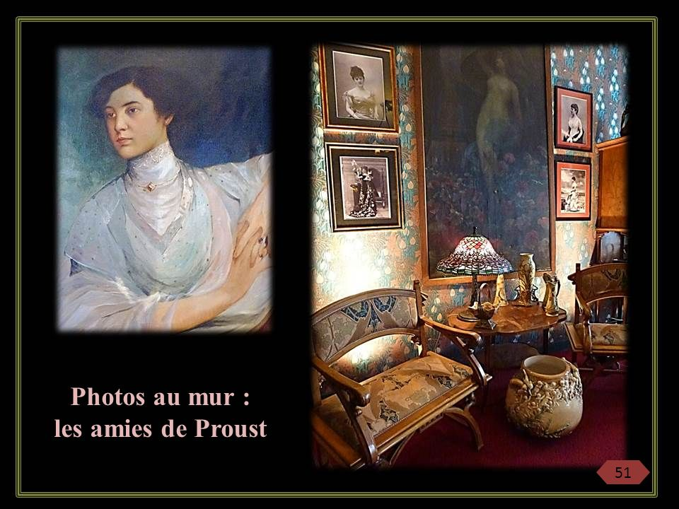 Photos au mur : les amies de Proust