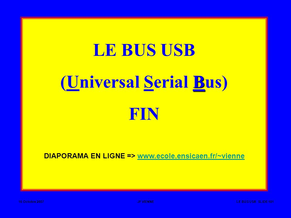 (Universal Serial Bus) FIN