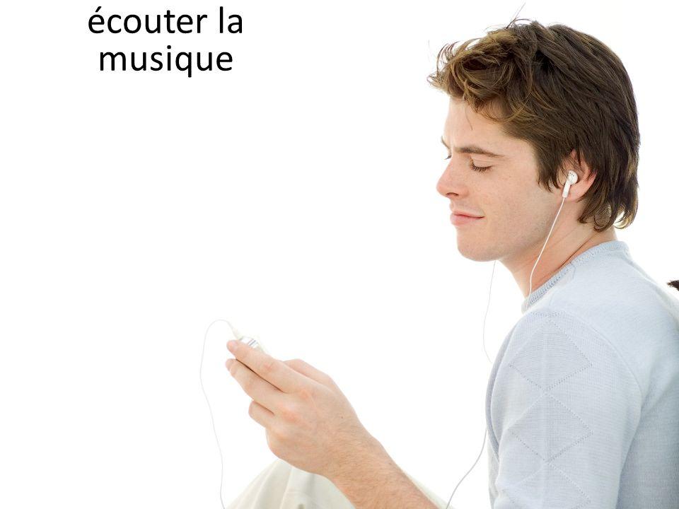 écouter la musique