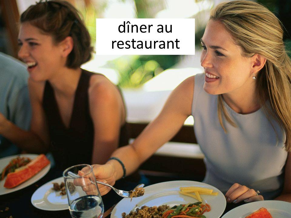 dîner au restaurant
