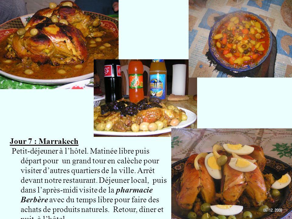 Jour 7 : Marrakech