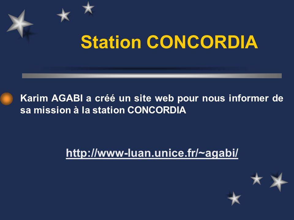 Station CONCORDIA http://www-luan.unice.fr/~agabi/
