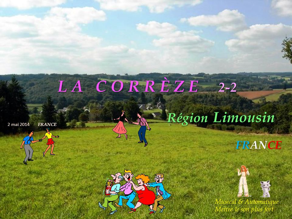 L A C O R R È Z E 2-2 Région Limousin FRANCE