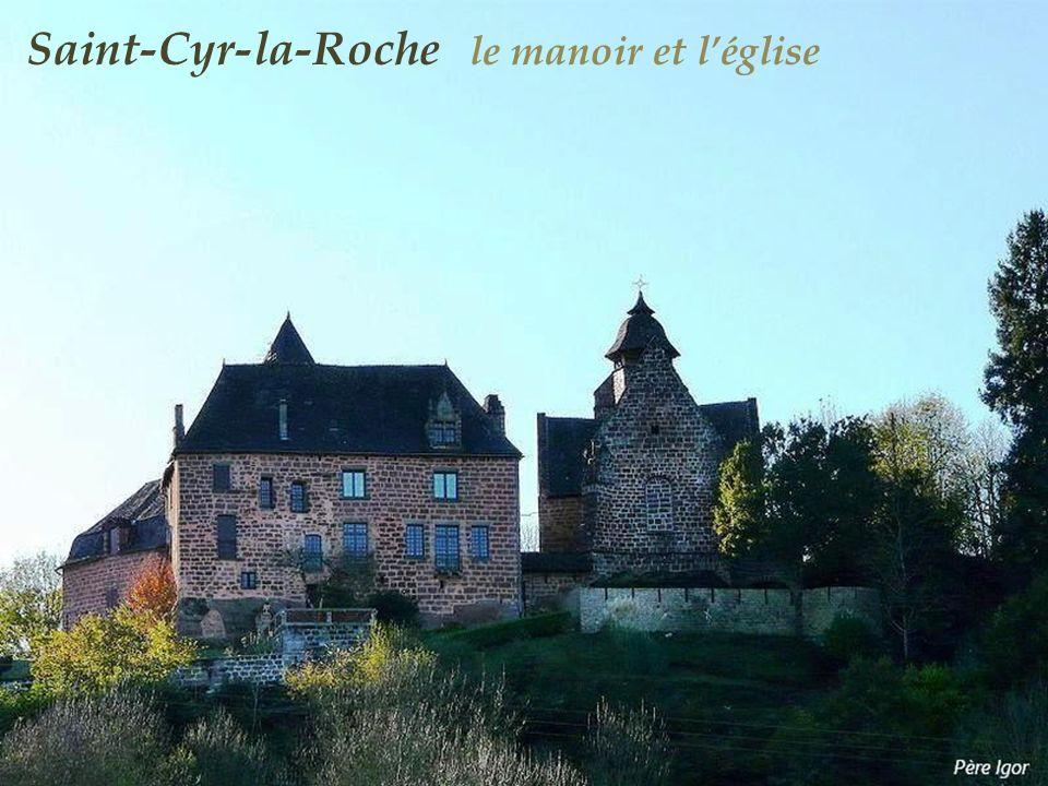 Saint-Cyr-la-Roche le manoir et l'église