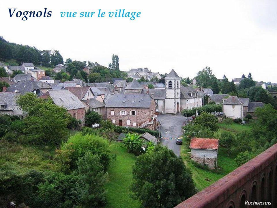 Vognols vue sur le village