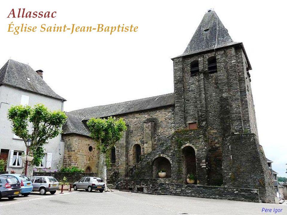 Allassac Église Saint-Jean-Baptiste