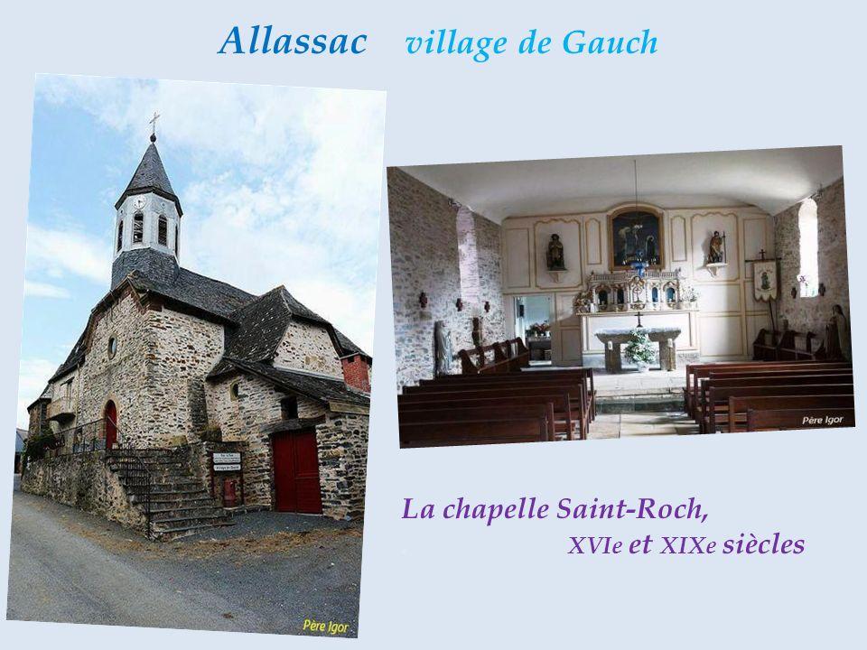 Allassac village de Gauch