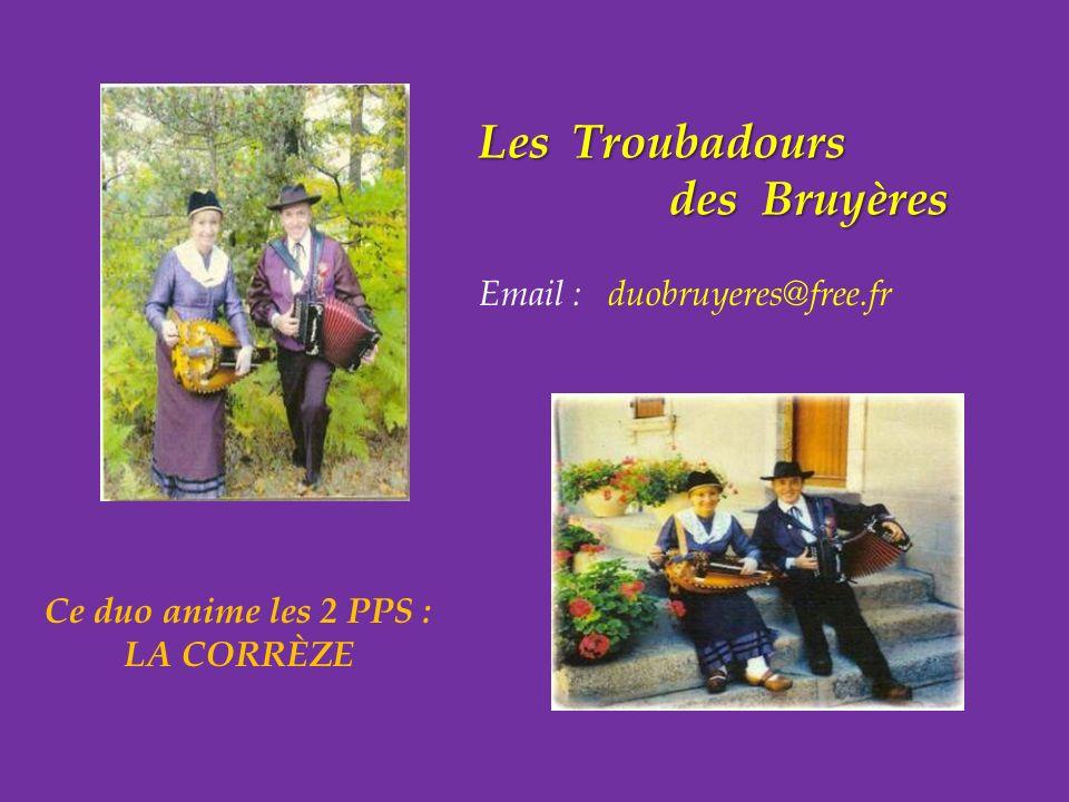 Les Troubadours .. des Bruyères
