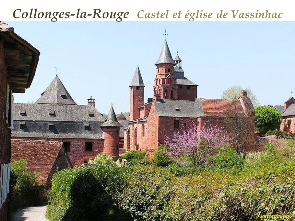 Collonges-la-Rouge Castel et église de Vassinhac