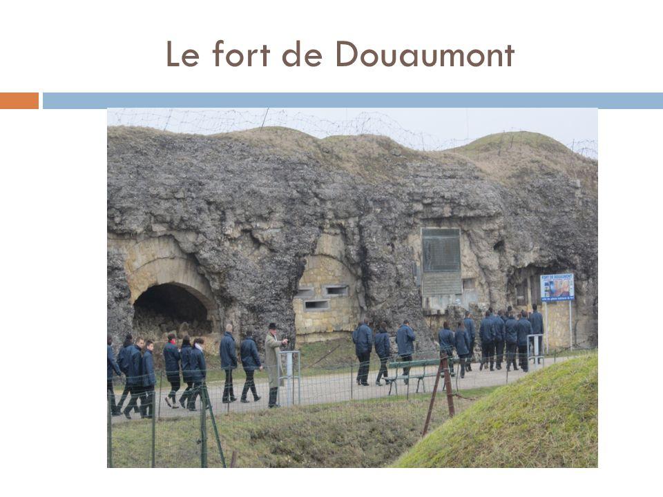 Le fort de Douaumont