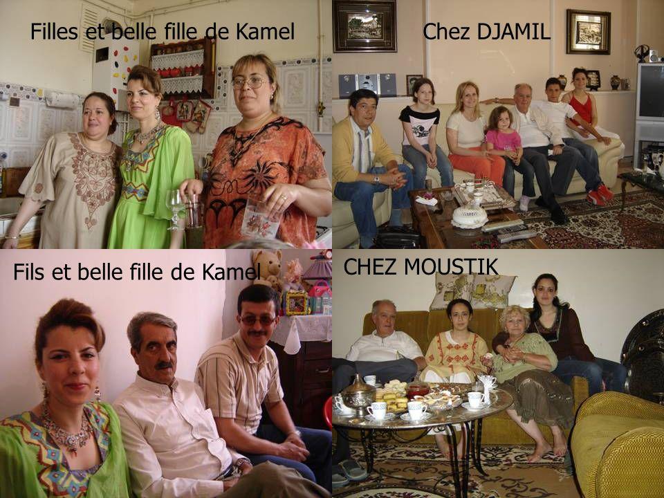 Filles et belle fille de Kamel