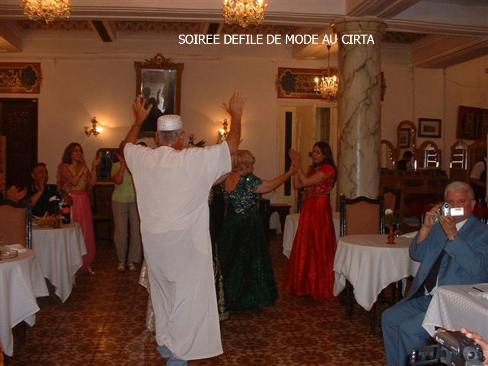SOIREE DEFILE DE MODE AU CIRTA