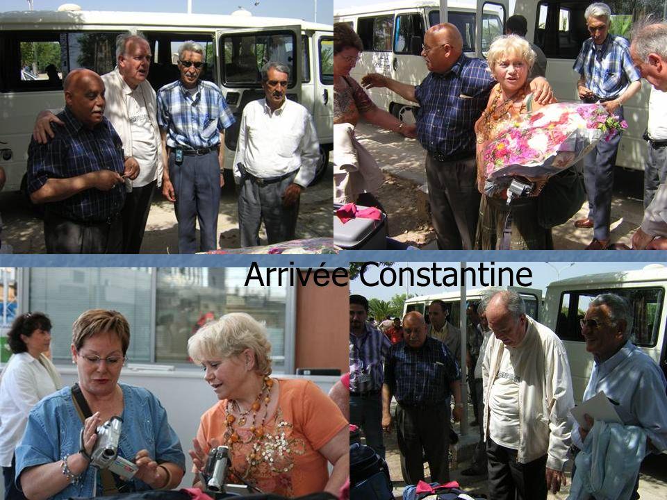 Arrivée Constantine