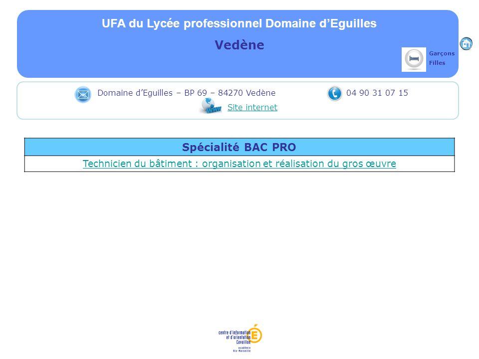 UFA du Lycée professionnel Domaine d'Eguilles