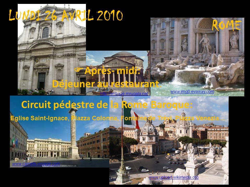 Circuit pédestre de la Rome Baroque:
