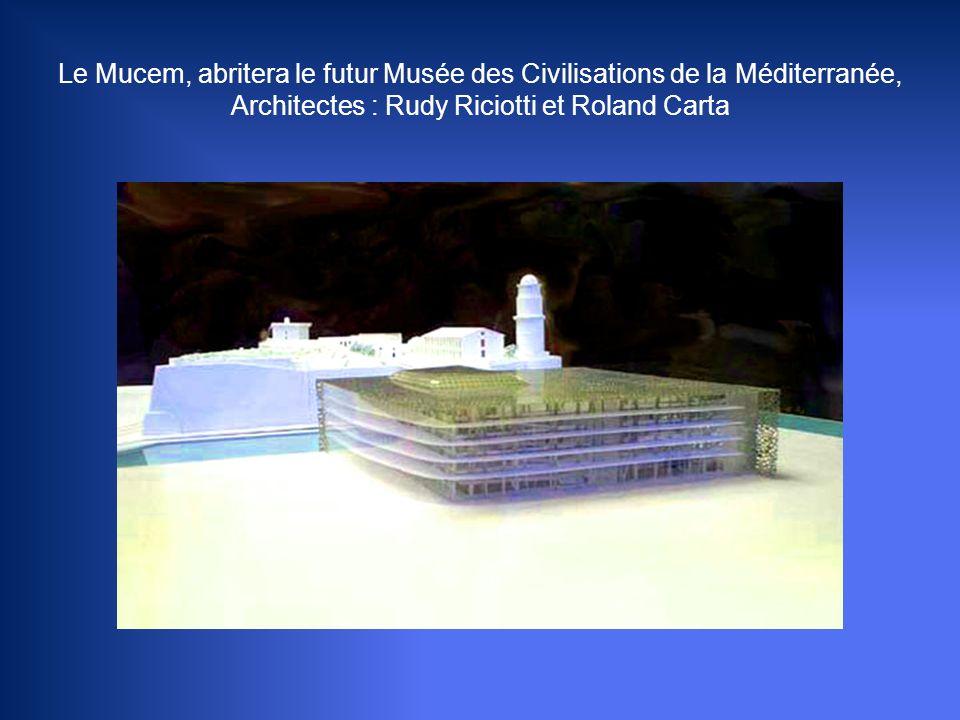 Le Mucem, abritera le futur Musée des Civilisations de la Méditerranée, Architectes : Rudy Riciotti et Roland Carta