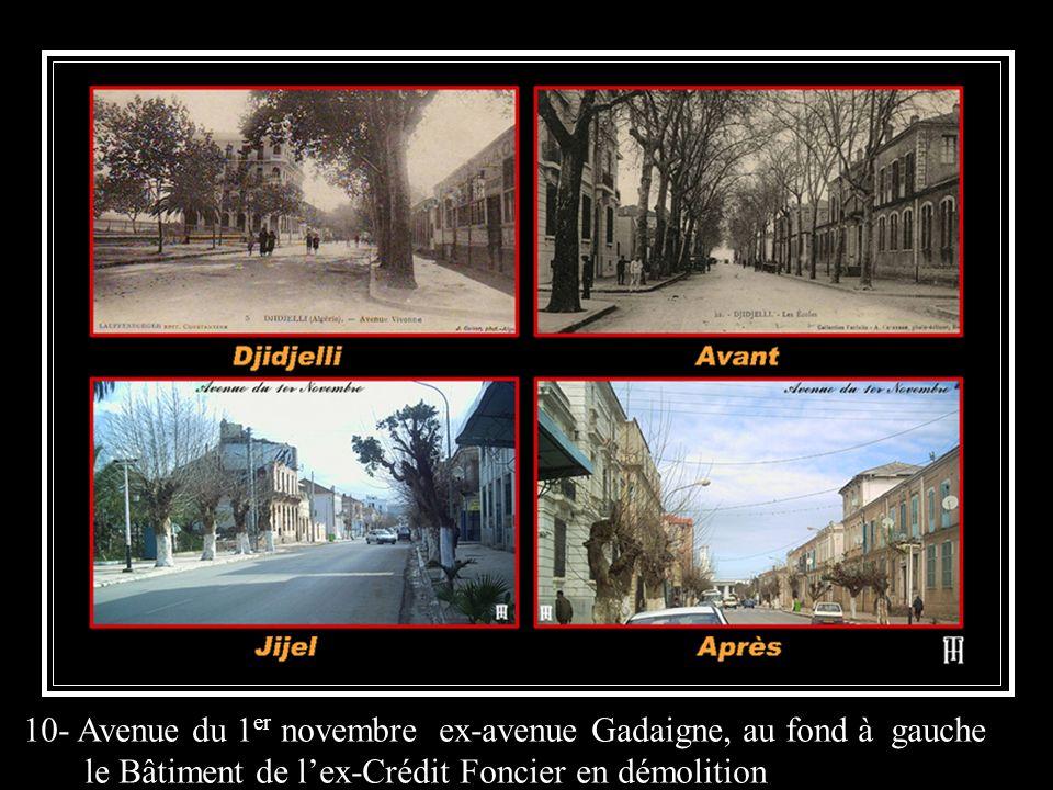 10- Avenue du 1er novembre ex-avenue Gadaigne, au fond à gauche