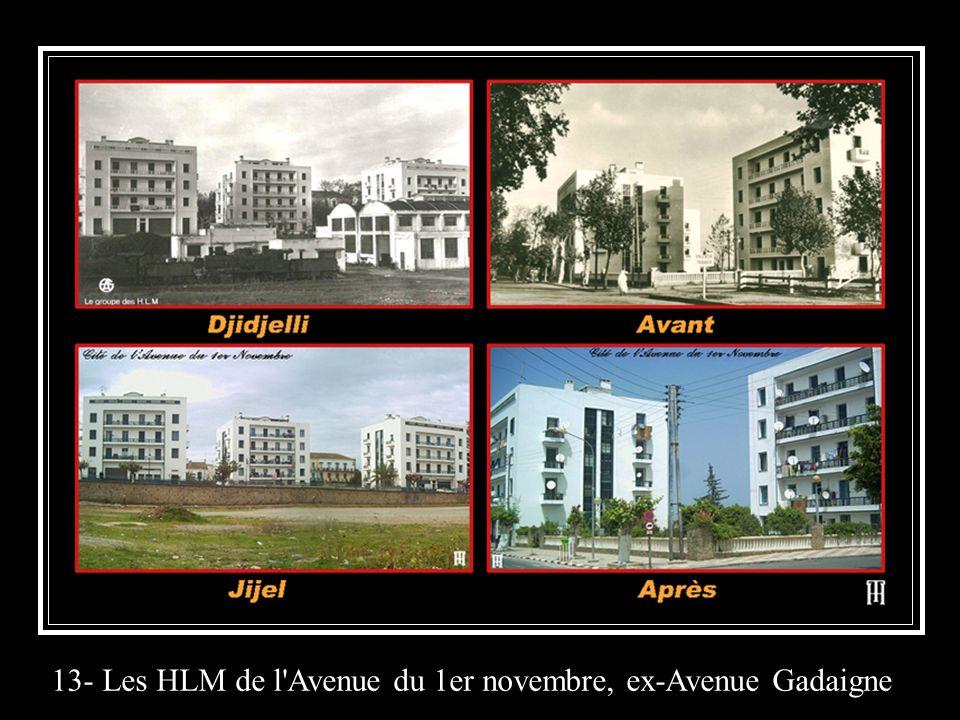 13- Les HLM de l Avenue du 1er novembre, ex-Avenue Gadaigne