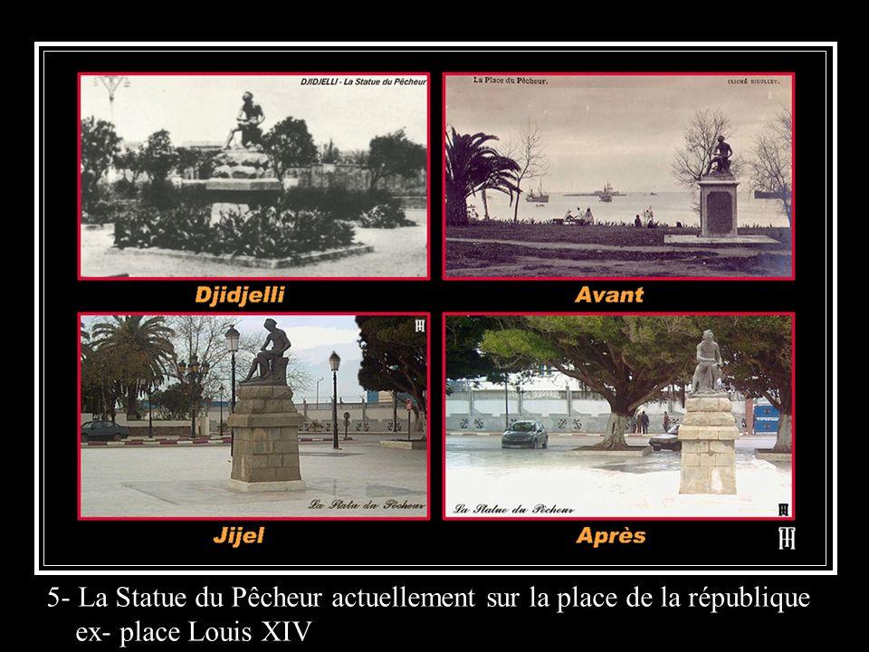 5- La Statue du Pêcheur actuellement sur la place de la république