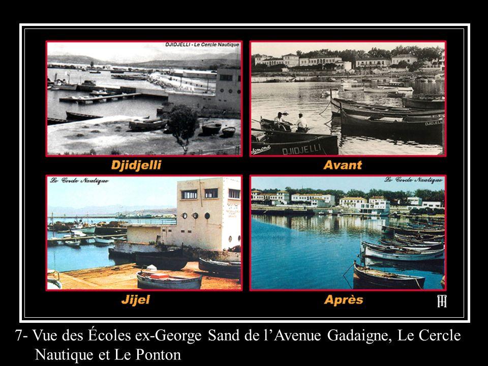 7- Vue des Écoles ex-George Sand de l'Avenue Gadaigne, Le Cercle