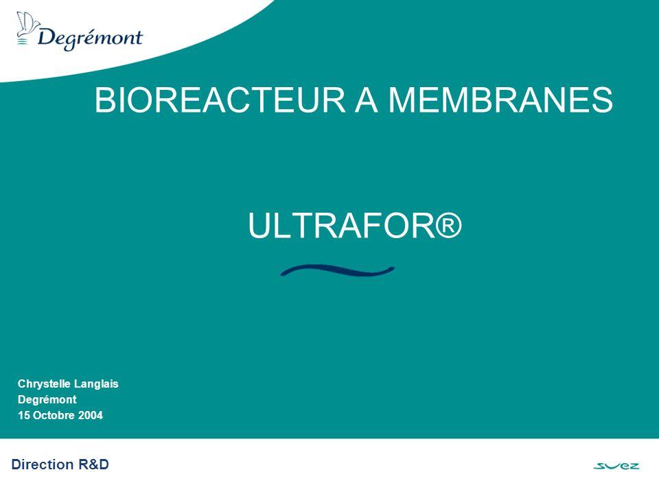 BIOREACTEUR A MEMBRANES ULTRAFOR®