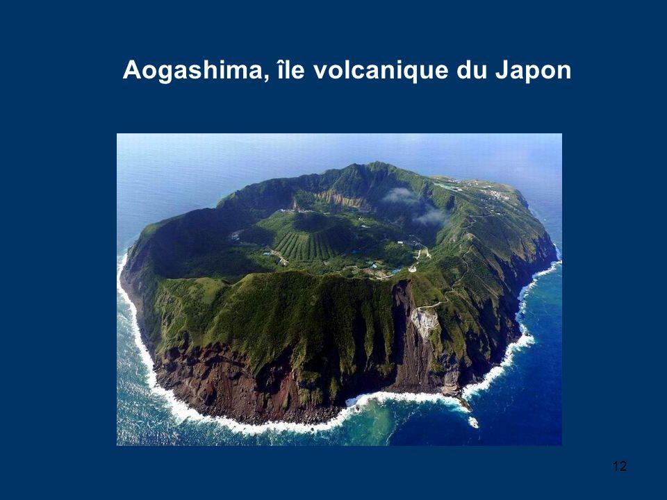 Aogashima, île volcanique du Japon