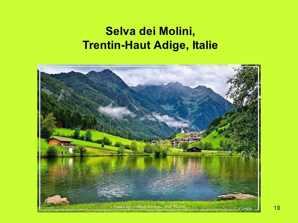 Selva dei Molini, Trentin-Haut Adige, Italie