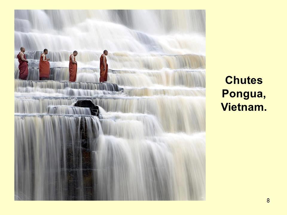 Chutes Pongua, Vietnam.