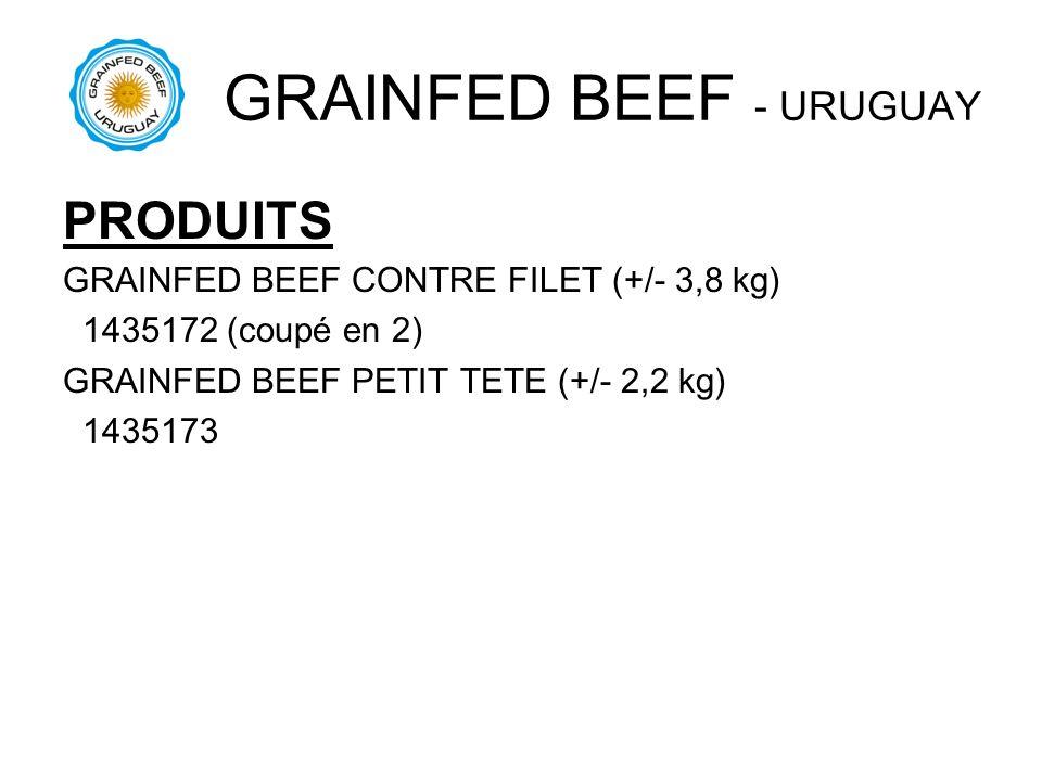 GRAINFED BEEF - URUGUAY