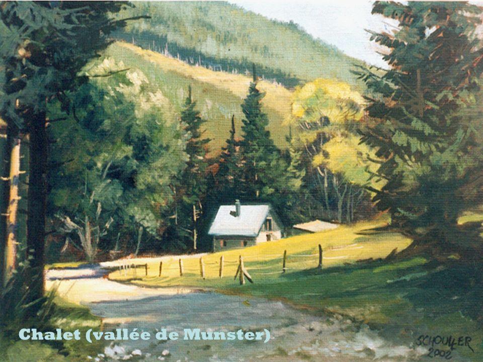 Chalet (vallée de Munster)