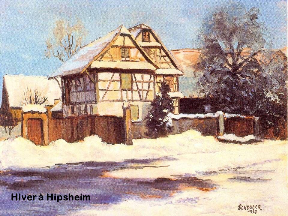 Hiver à Hipsheim