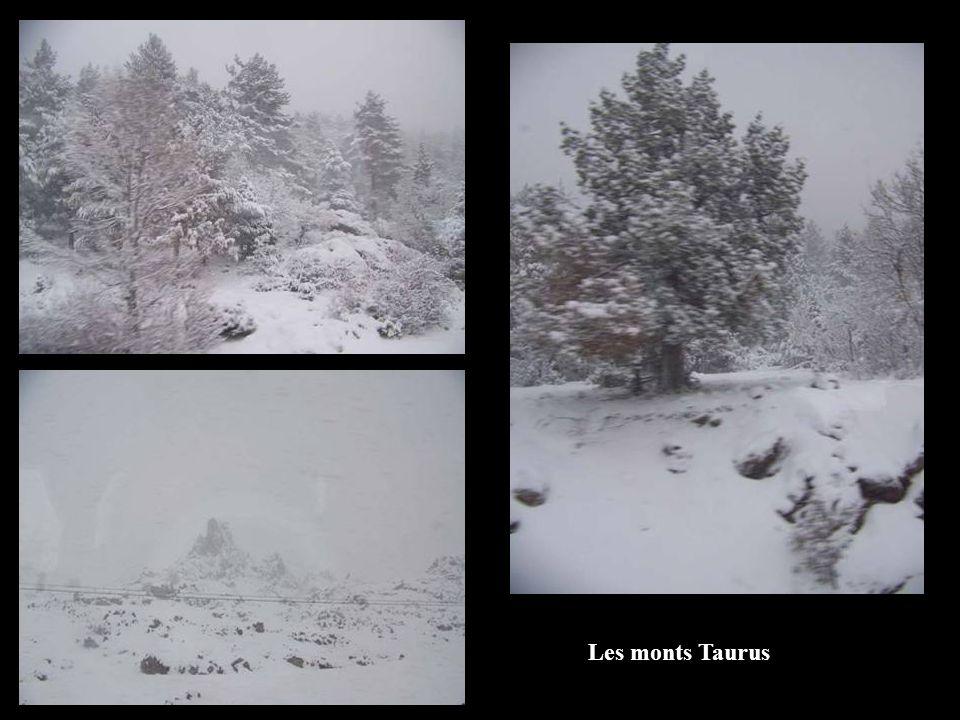 Les monts Taurus