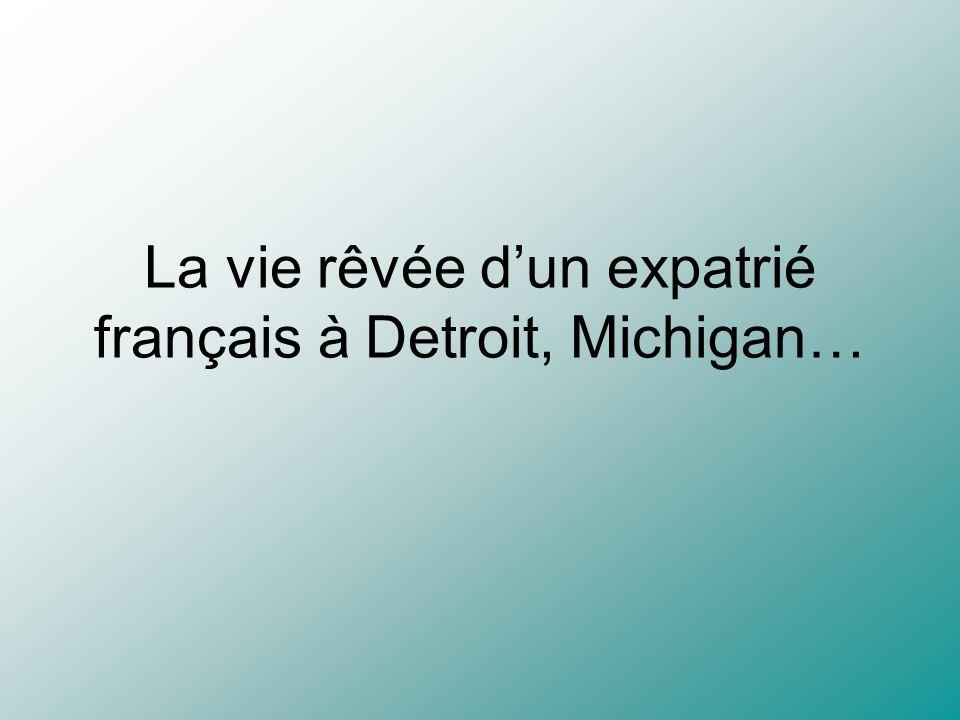 La vie rêvée d'un expatrié français à Detroit, Michigan…