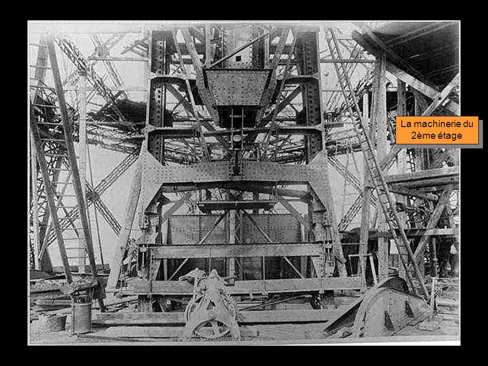 La machinerie du 2ème étage