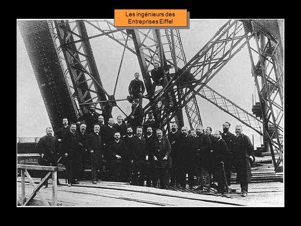 Les ingénieurs des Entreprises Eiffel