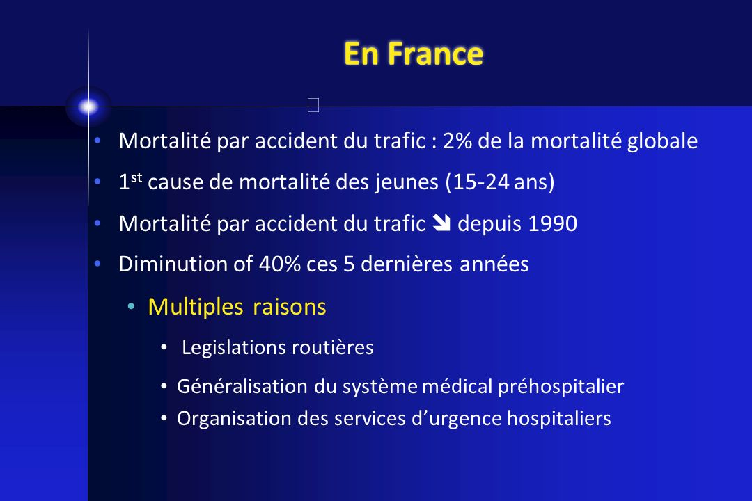 En France Multiples raisons