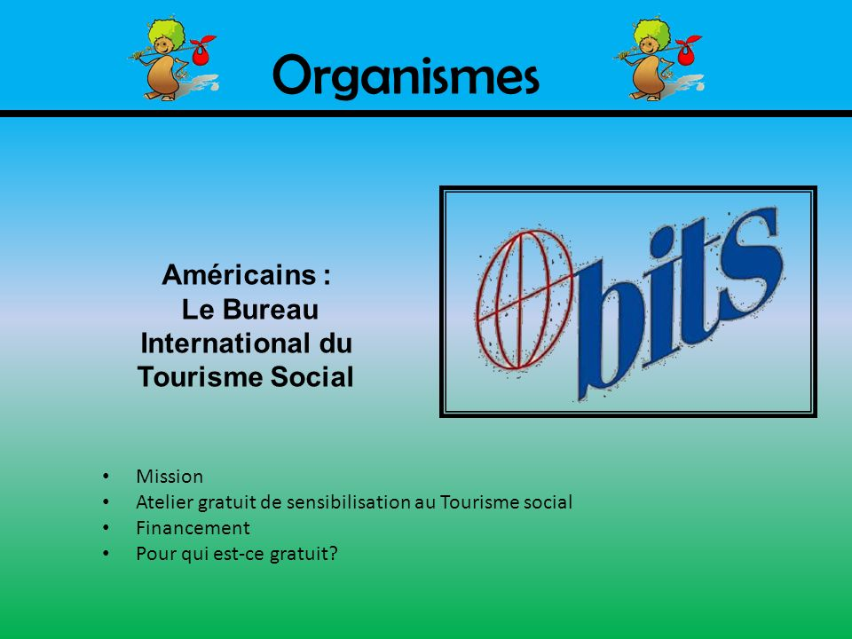 Le Bureau International du Tourisme Social