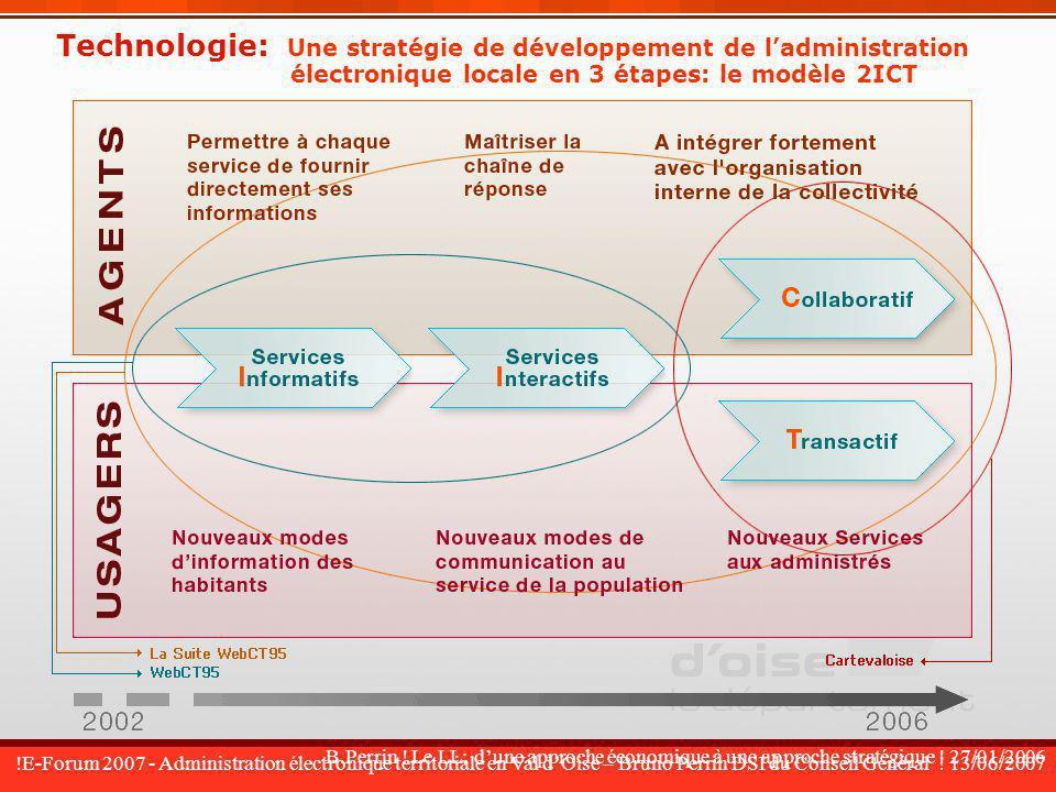 Technologie: Une stratégie de développement de l'administration