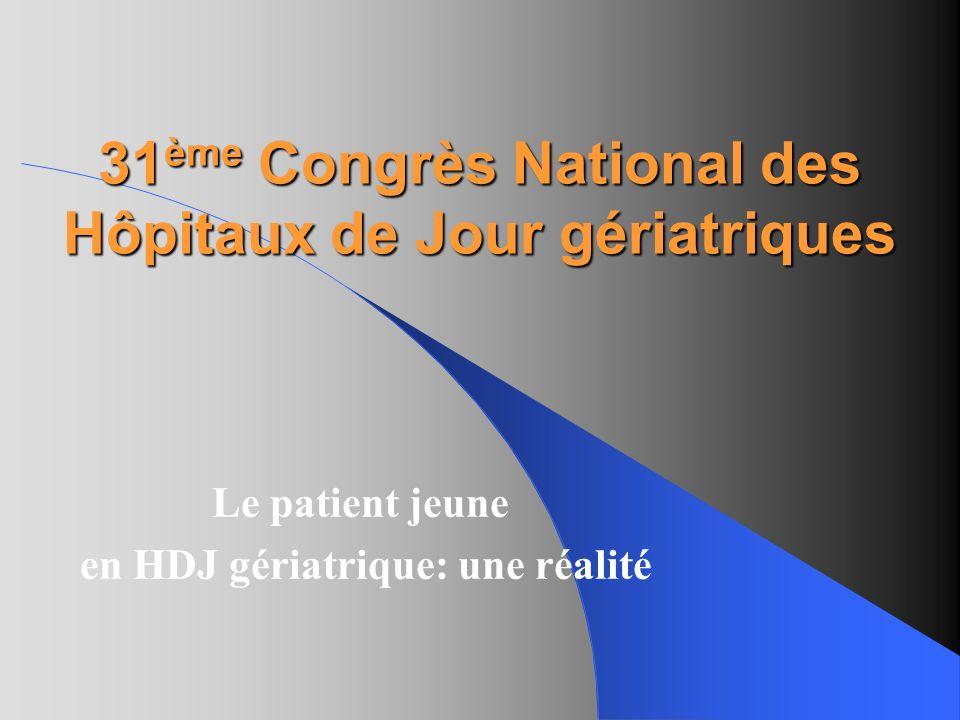31ème Congrès National des Hôpitaux de Jour gériatriques
