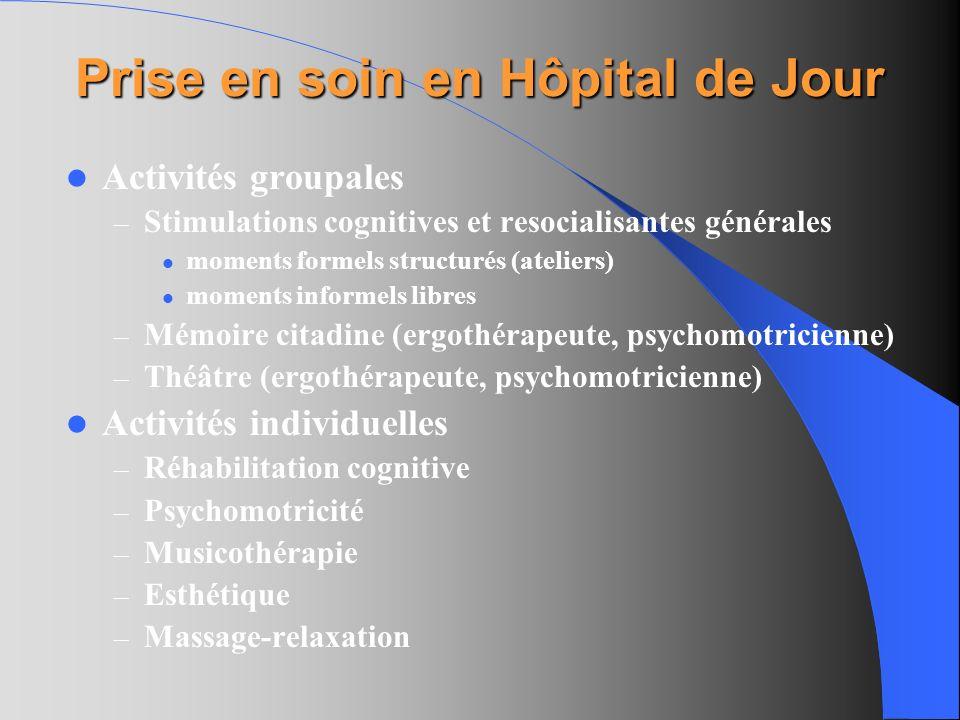 Prise en soin en Hôpital de Jour
