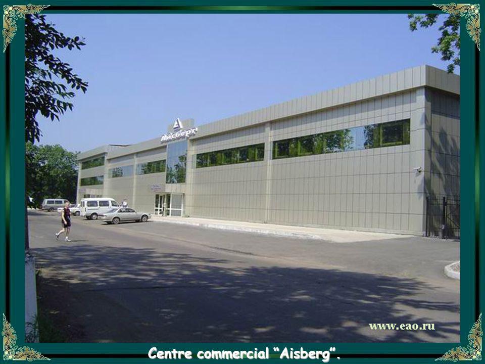 Centre commercial Aisberg .