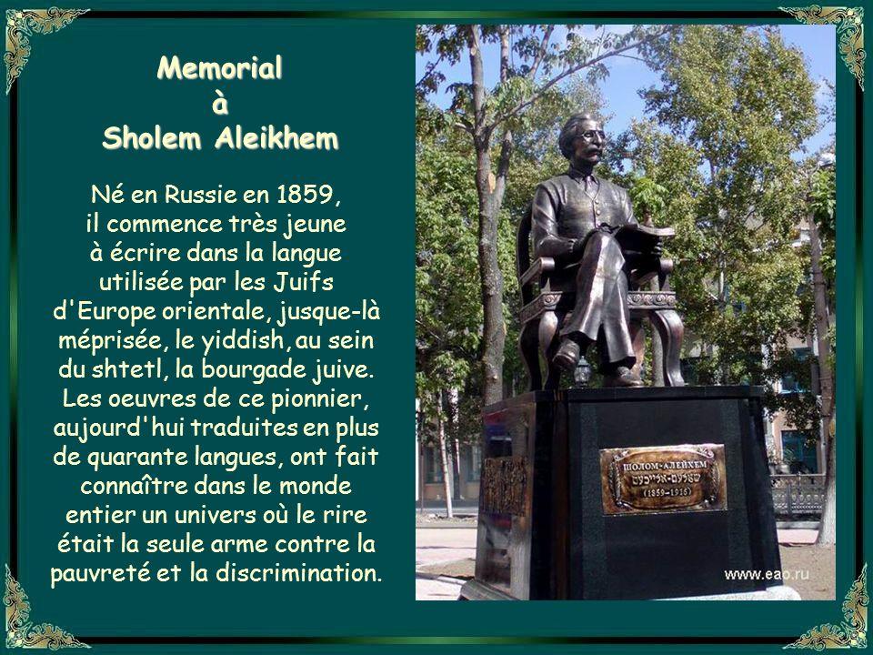 Memorial à Sholem Aleikhem