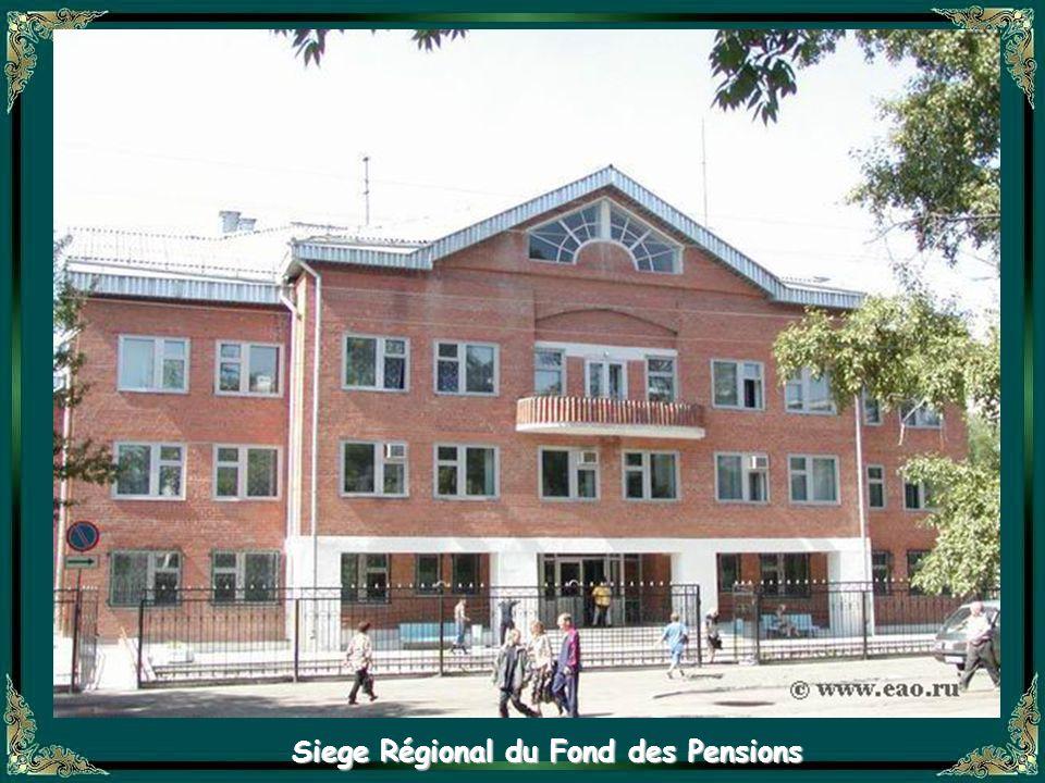 Siege Régional du Fond des Pensions
