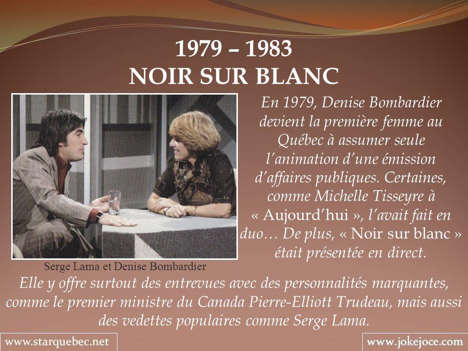 Serge Lama et Denise Bombardier