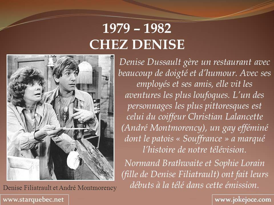 Denise Filiatrault et André Montmorency